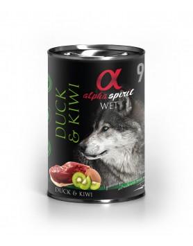 Alimento Húmido Alpha Spirit - Pato e Kiwi 400gr