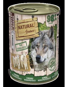 Alimento Húmido Natural Greatness - Borrego (Monoproteico) 400g