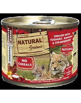 Alimento Húmido Natural Greatness - Frango com Iogurte 200g