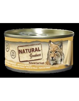 Alimento Húmido Natural Greatness - Peito de Frango 70g