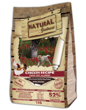 Natural Greatness Starter Puppy - Frango