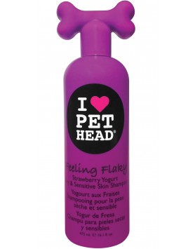 Champô Pet Head Feeling Flaky - Strawberry Yogurt 475ml