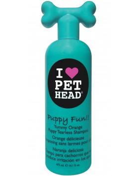 Champô Pet Head Puppy Fun - Yummy Orange 475ml