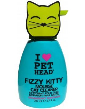 Mousse Pet Head Fizzy Kitty - Strawberry Lemon 200ml