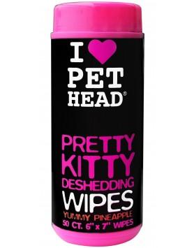 Toalhitas Pet Head Pretty Kitty - Yummy Pineapple  (50 unidades)
