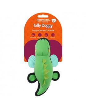 Jolly Doggy Canvas Crocodile