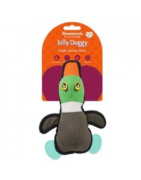 Jolly Doggy Canvas Duck