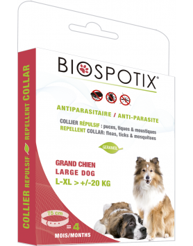 Coleira para Cão Grande Biospotix 75 cm