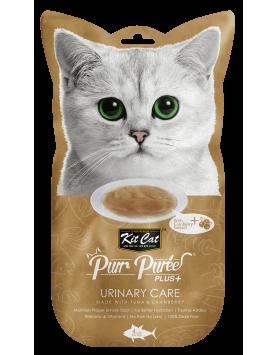 Alimento Húmido KitCat Purr Puree Plus - Urinary Care - Atum e Arando