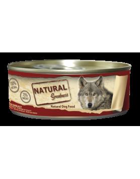 Alimento Húmido Natural Greatness - Peito de Frango 156g