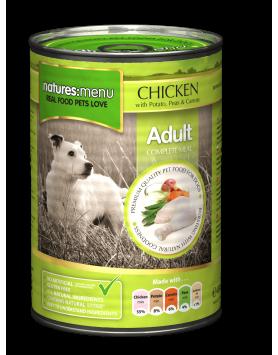 Alimento Húmido Natures Menu Cão - frango 400g
