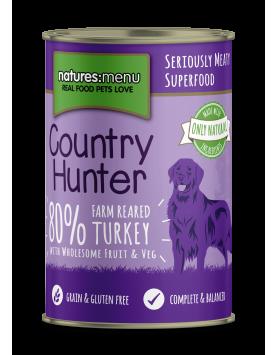 Alimento Húmido NM Country Hunter Cão - Peru 400g