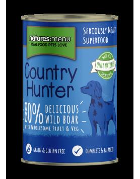 Alimento Húmido NM Country Hunter Cão - Javali 400g