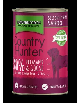 Alimento Húmido NM Country Hunter Cão - Faisão e ganso 400g