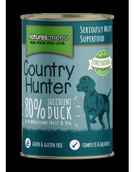 Alimento Húmido NM Country Hunter Cão - Pato 400g