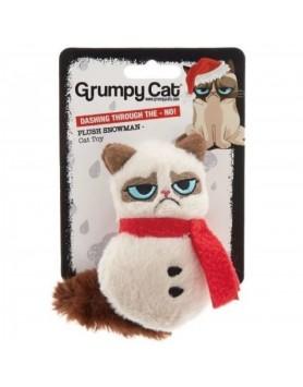 Xmas - Grumpy Cat - Grumpy Plush Snowman