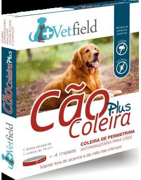 Vetfield Cão Coleira PLUS Ectop. (Raças Grandes)