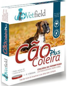 Vetfield Cão Coleira PLUS Ectop. (Raças Médias)