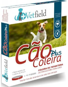 Vetfield Cão Coleira PLUS Ectop. (Raças Pequenas)