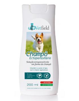 Vetfield Champô Ectoparasitário 200ml
