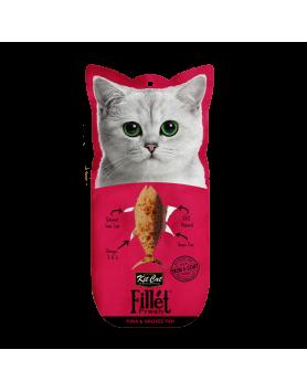 Kit Cat FilletFresh Atum e Peixe fumado 30g