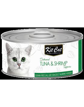 Alimento Húmido KitCat Super Premium - Atum e Camarão 80g