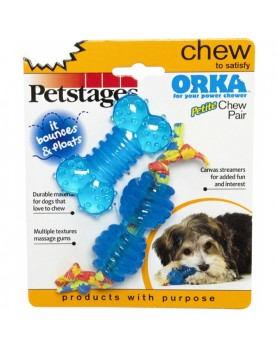 PETSTAGES Orka Chew Pair Petite