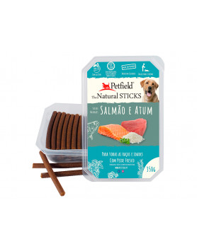 Petfield Sticks - Salmão e Atum 350g