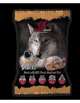 Snack Alpha Spirit para cão - Peru 50g