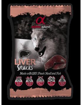 Snack Alpha Spirit para cão - Fígado 50g