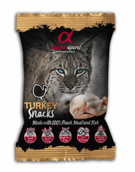 Snack Alpha Spirit para gato - Peru 50g