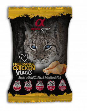 Snack Alpha Spirit para gato - Frango 50g