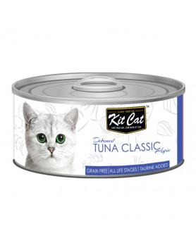 Alimento Húmido Kit Cat Super Premium - Atum 80g