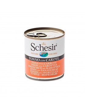 Schesir Cão - Atum com Cenoura 285gr